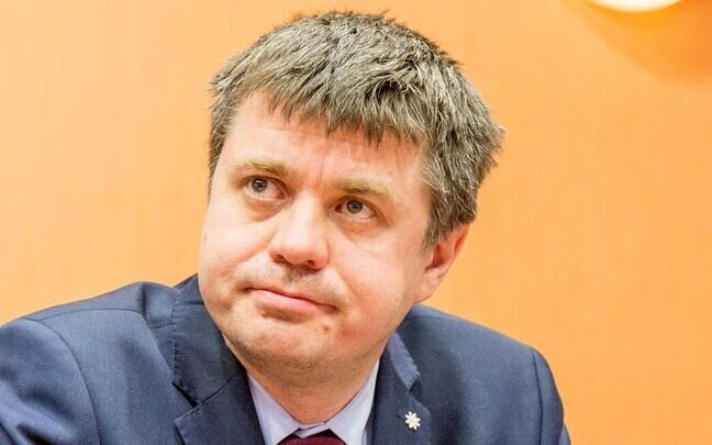 Министр юстиции Урмас Рейнсалу.