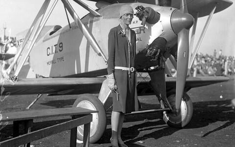 Amelia Earhart 1928. aastal.