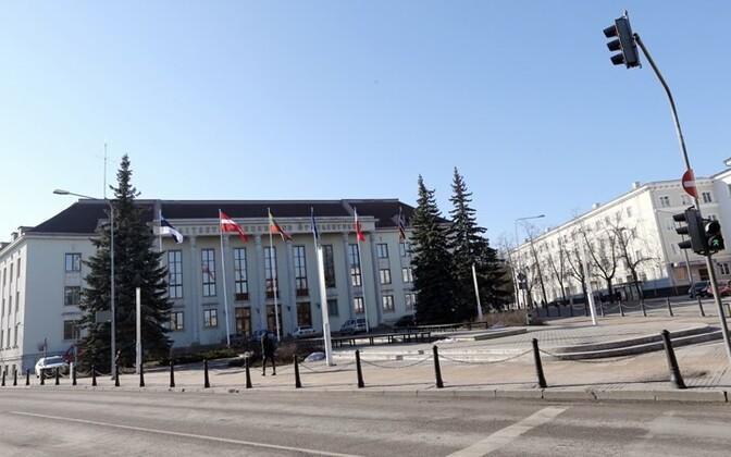 KVÜÕA hoone Tartus