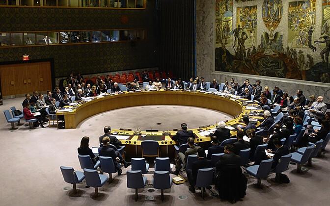 ÜRO julgeolekunõukogu istung