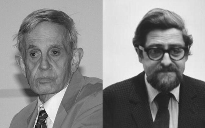 John Nash ja Louis Nirenberg.