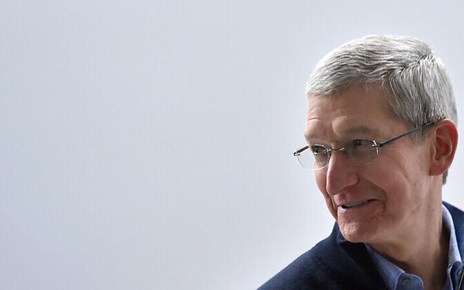 Apple'i tegevjuht Tim Cook