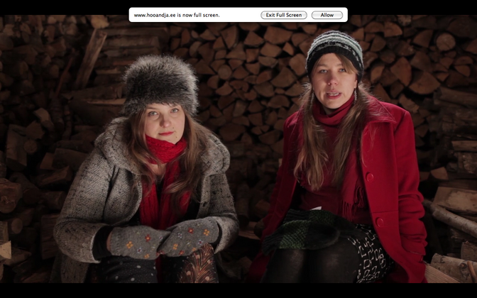 Anna Hints ja Mari Kalkun