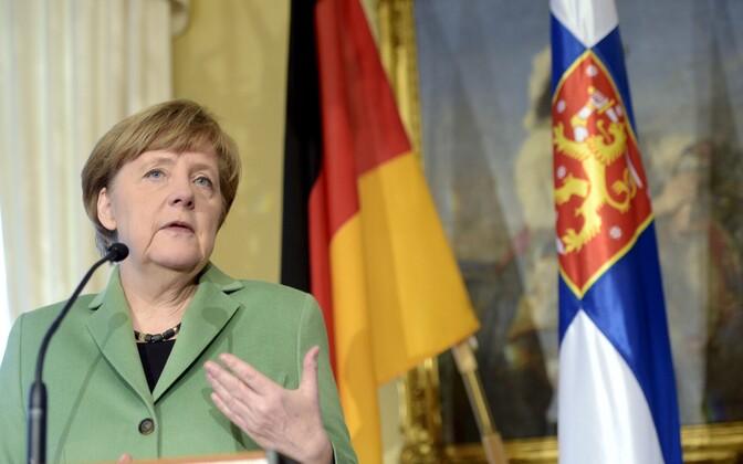 Saksa liidukantsler Angela Merkel 2015. aastal Soomes.