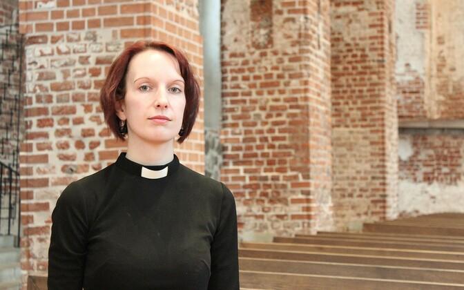 Eesti Evangeelse Luterliku Kiriku pastor, Tartu ülikooli - Jaani koguduse abiõpetaja Triin Käpp