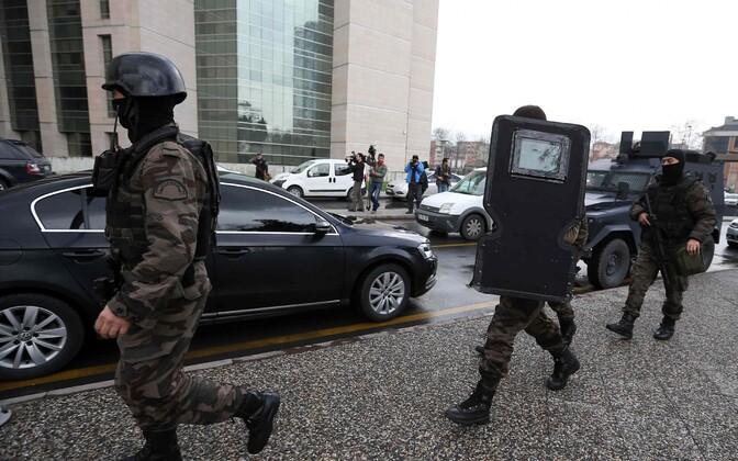 Türgi politsei eriüksuslased, foto on illustratiivne