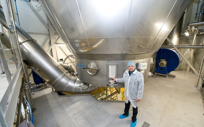 E-Piima tootmine Järva-Jaanis.