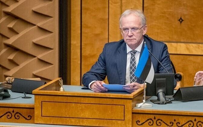 Parliament Speaker Eiki Nestor
