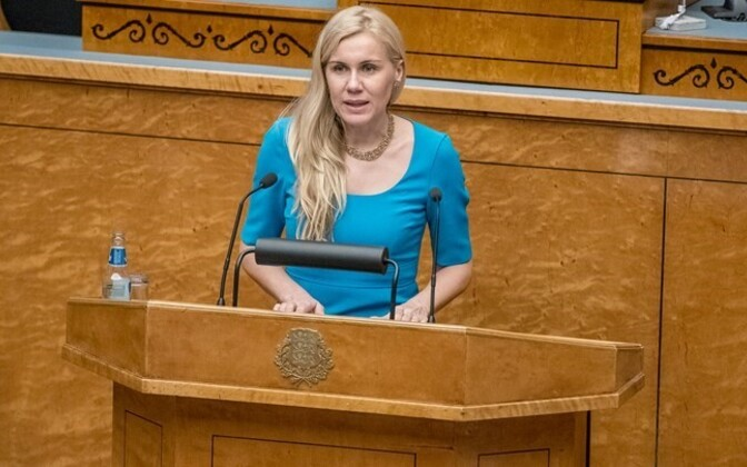 Kadri Simson will challenge Edgar Savisaar for the chair(wo)man of the Center Party position.