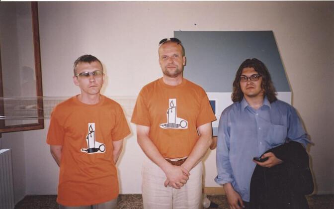 John Smith ja Anders Härm - Eesti meeskond aastal 2003