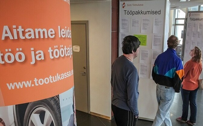 Job ads at an EUIF-organized job fair.