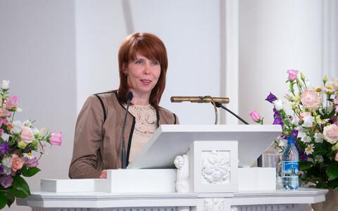 Tartu ülikooli eetikakeskuse juhataja ja filosoofiateaduskonna dekaan Margit Sutrop.
