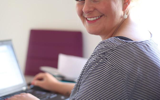 Blogipidaja Mari-Leen Albers.