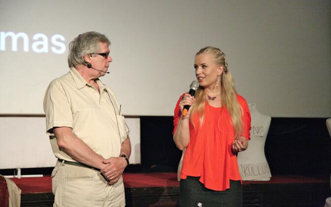 Igor Volke ja Ingrid Peek festivalil HalloKosmos 2011