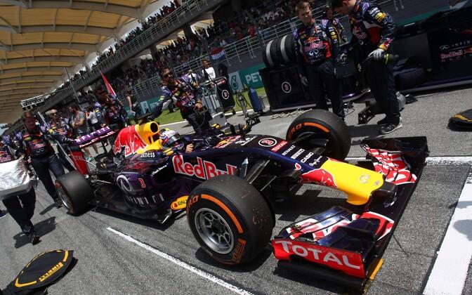 Daniel Ricciardo ja Red Bull