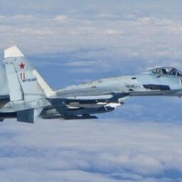 Vene õhujõudude SU-27 Läänemere kohal