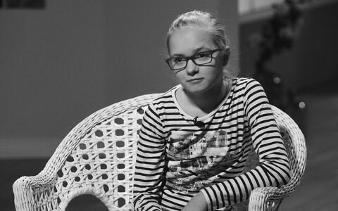 Лийза Коппель в студии программы