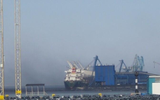 Порт Усть-Луга. Иллюстративная фотография.
