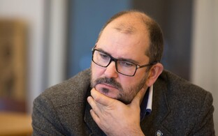 Mayor of Viljandi Ando Kiviberg.