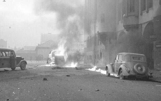 Pommitamise tagajärjed Helsingis 1939. aastal