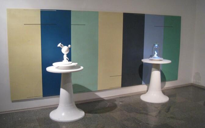 """Kaarel Kurismaa näitus """"Väike masin ja sõbrad"""""""