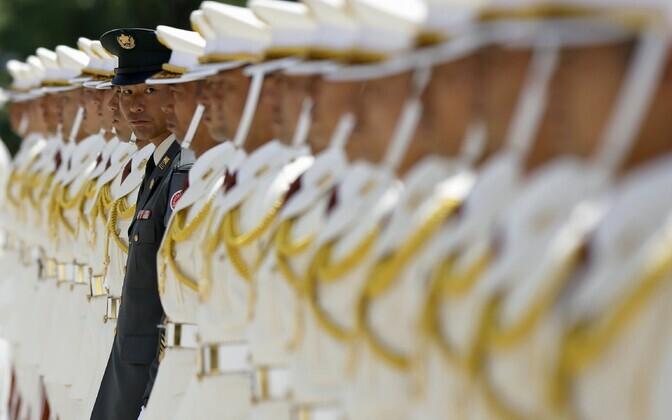 Jaapani kaitseväelased.