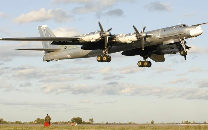 Venelaste pommitaja TU-95.