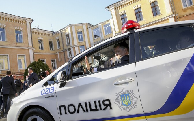 Ukraina politseiauto.
