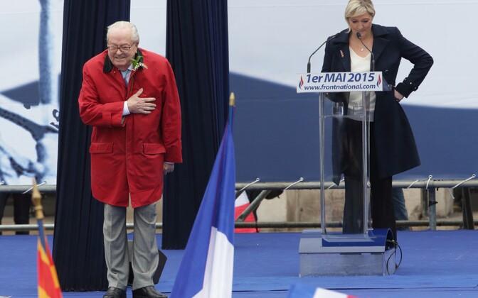 Isa Jean-Marie ja tütar Marine Le Pen.