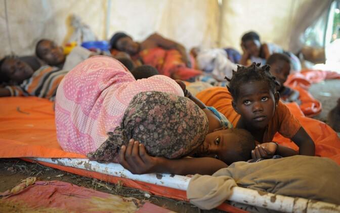 Kõige halvem on emade ja laste olukord Somaalias.