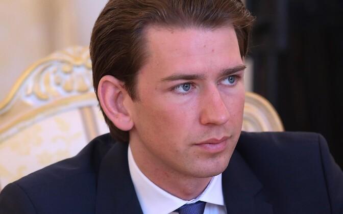 Austria välisminister Sebastian Kurz