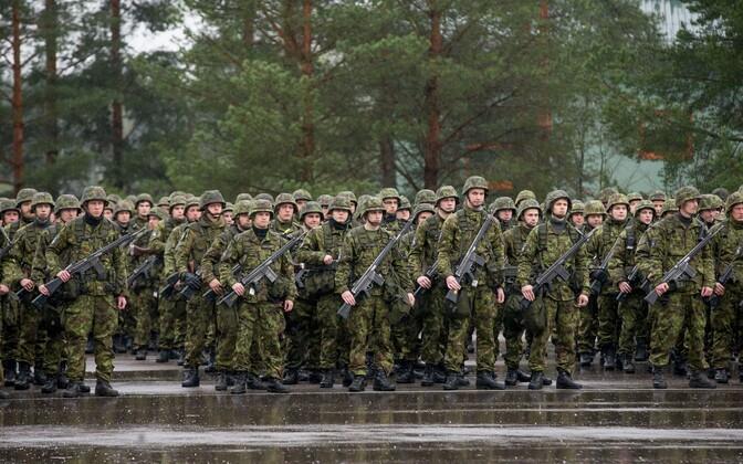Estonian conscripts at Tapa.