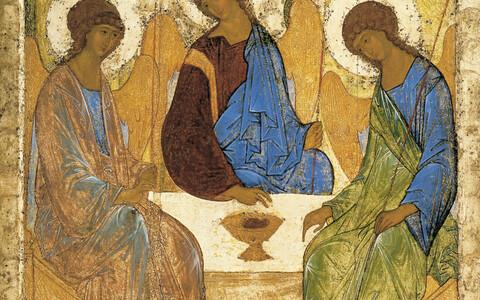 Andrei Rubljov. Kolmainsus. Umbes 1410. a.