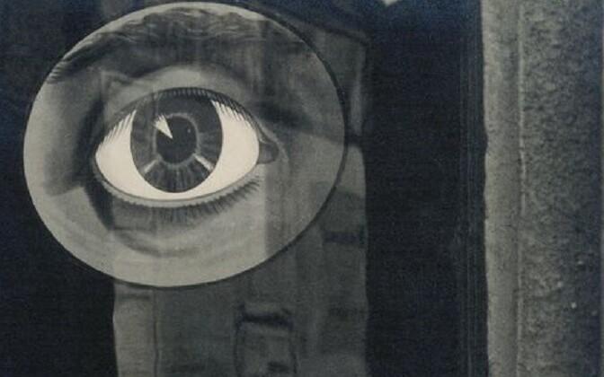Jaromir Funke töö Tšehhi avangardfoto näituselt Kumus.