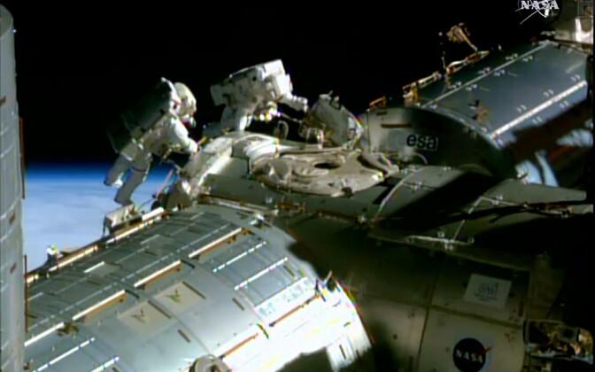 NASA foto ISS-ist.