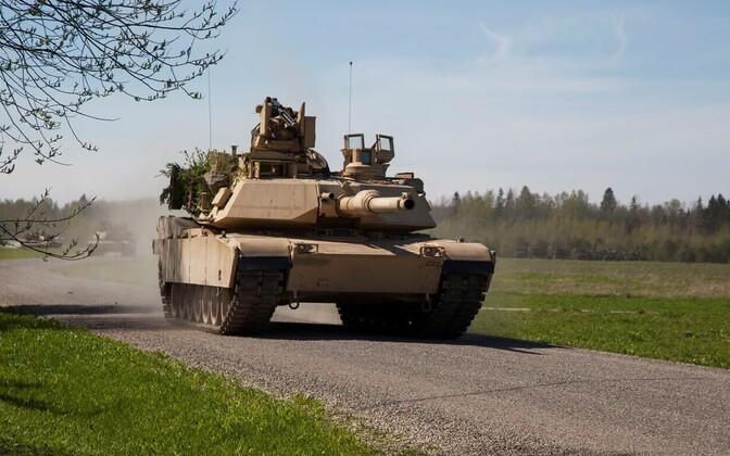 USA tank õppusel Siil