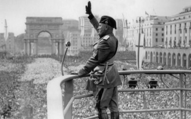 Itaalia fašistide juht Benito Mussolini