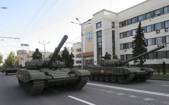 9. mai paraadi proov Donetskis.