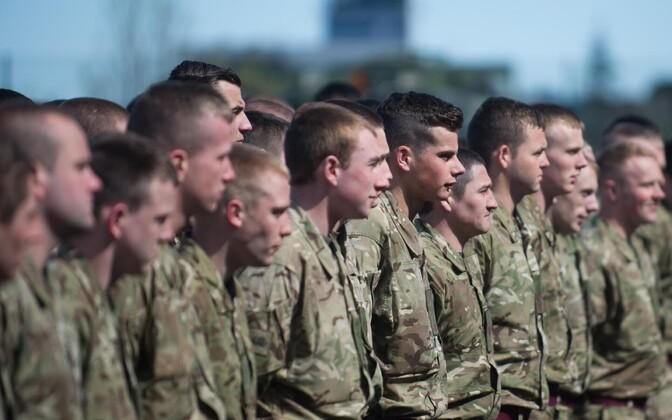 British soldies in Tapa