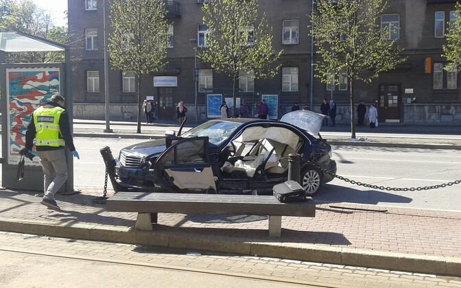 A serious traffic accident took place in Tallinn city center on May 16, leaving 13 people in the hospital, four in critical condition.