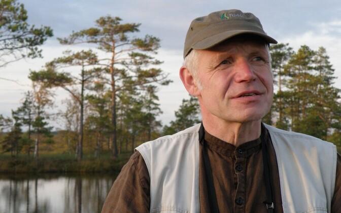 Tartu ülikooli semiootika osakonna juhataja Kalevi Kull.