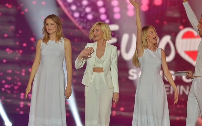 Российская песня была представлена в первом полуфинале Полиной Гагариной.