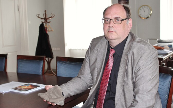 TÜ  geoloog Erik Puura.