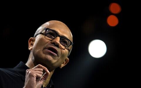 Microsofti tegevjuht Satya Nadella.