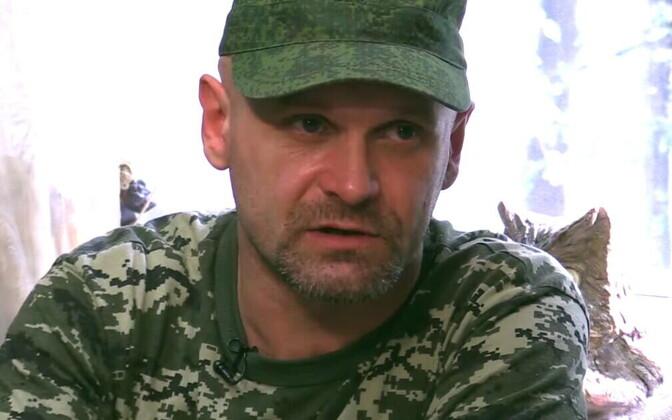 Nn separatistide komandör Aleksei Mozgovoi 2014. aasta suvel