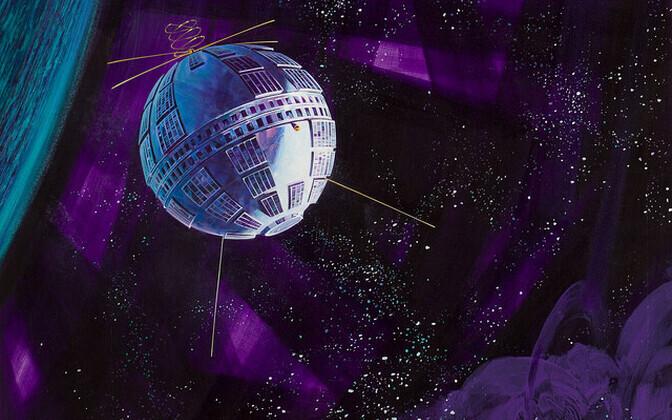 TelStar-1 kunstniku nägemuses.