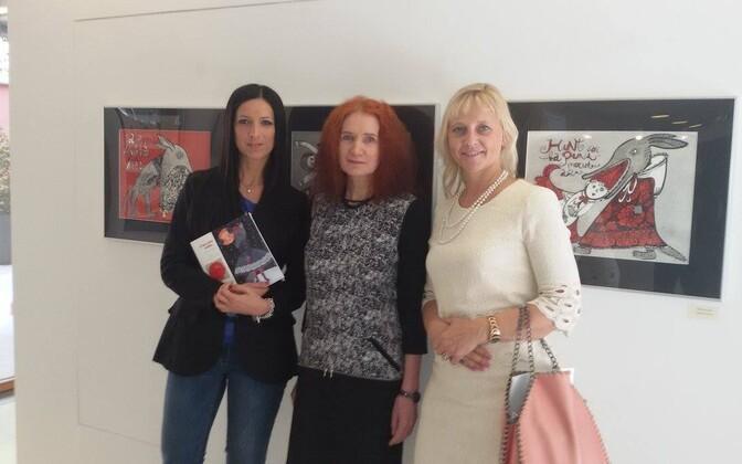 Itaalias avati Eesti lasteraamatute iluustratsioonide näitus.