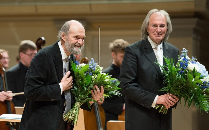 The highlight of the cultural program of Estonia's state visit to Germany was Arvo Pärt's composer concert at the Berlin Konzerthaus, where a selection of Pärt's music was be performed by his long-standing creative partners the Estonian Philharmonic Chamb