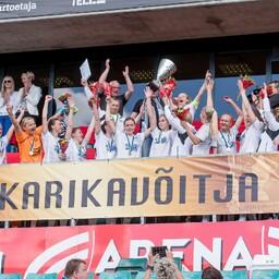 Naiste karikafinaal Pärnu JK - Põlva FC Lootos
