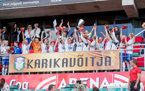 Viimase karikavõidu sai Pärnu naiskond kaks aastat tagasi.